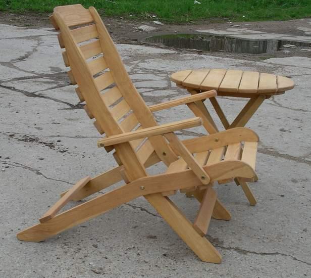 Самодельные стулья с дерева